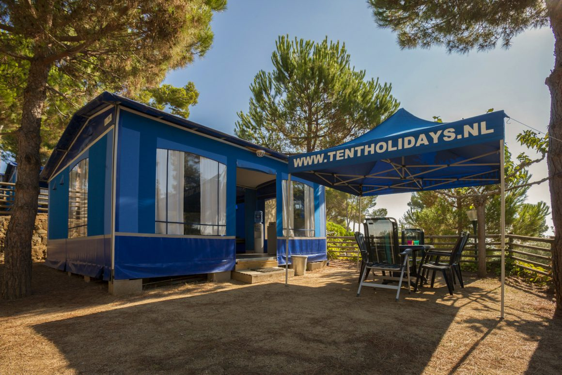 super lodge bungalow blauw zee
